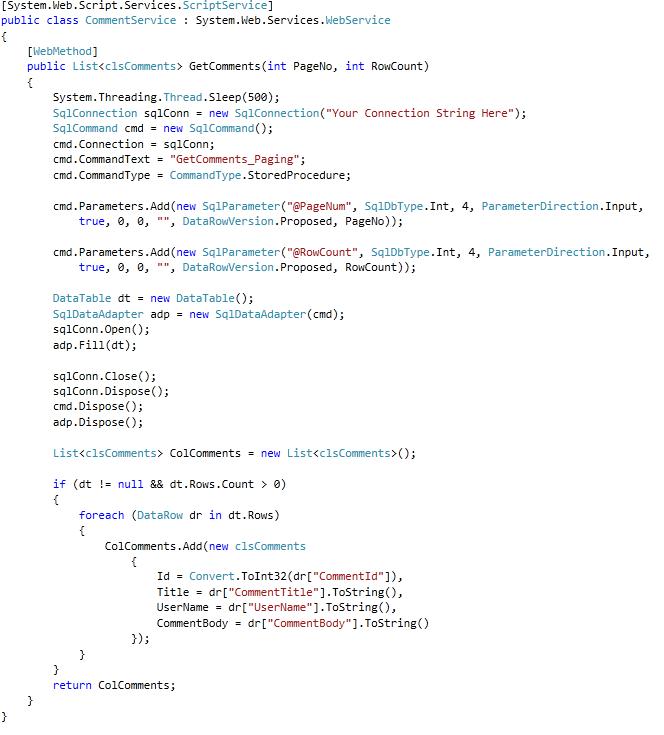Abdulla AbdelHaq Blog - How To : Create Custom Paging Grid