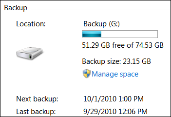 Backup Complete Victory
