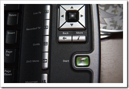 Media Center keyboard