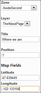 Adding the map