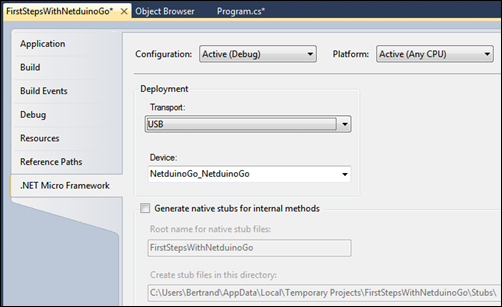 Make sure Transport is USB in project properties