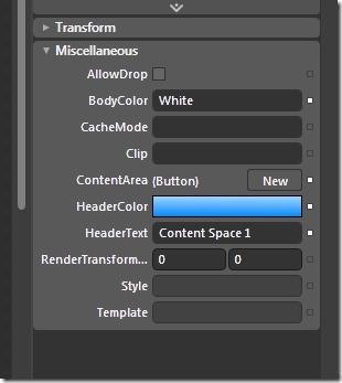 Blend Custom Properties