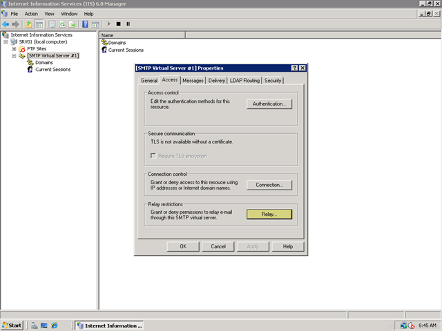 Fear and Loathing - Setting up a Local Mail Server for a SharePoint
