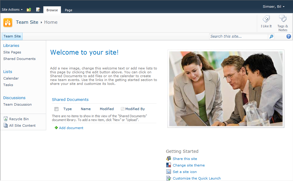 Fear and Loathing - SharePoint 2010 Site Templates – A Detailed ...