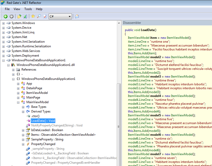 Fear and Loathing - Dotfuscator Deep Dive with WP7