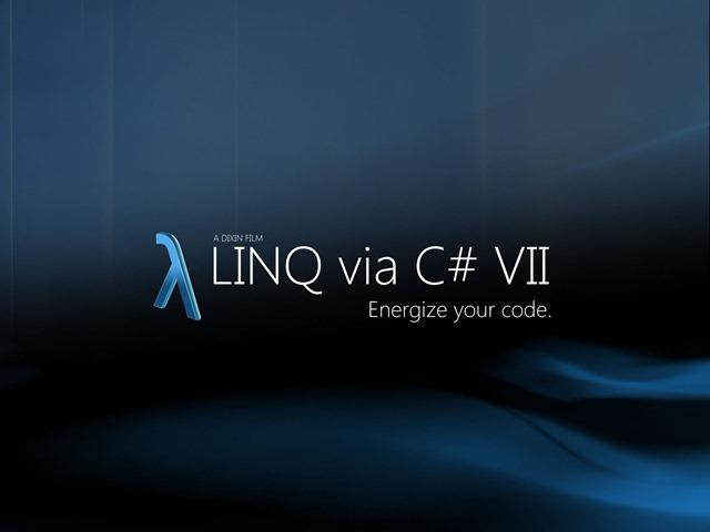 LinqViaCSharp7_Dixin_PosterDesign