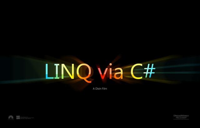 LinqViaCSharp9_Dixin_PosterDesign
