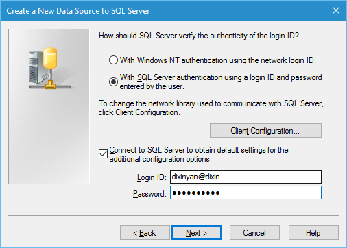 Dixin's Blog - Easy Ways to Test SQL Server/SQL Azure Connection