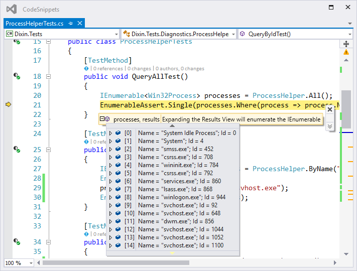 Dixin's Blog - Query Operating System Processes in C#