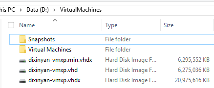 Dixin's Blog - Shrink Virtual Hard Disk Image (VHD and VHDX) Files
