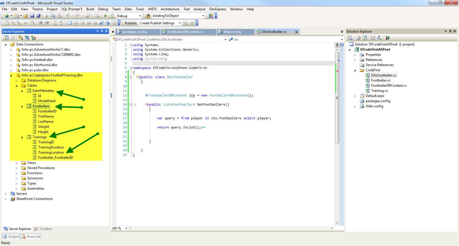 Nikolaos Kantzelis ASP Net Blog - Using the Code First