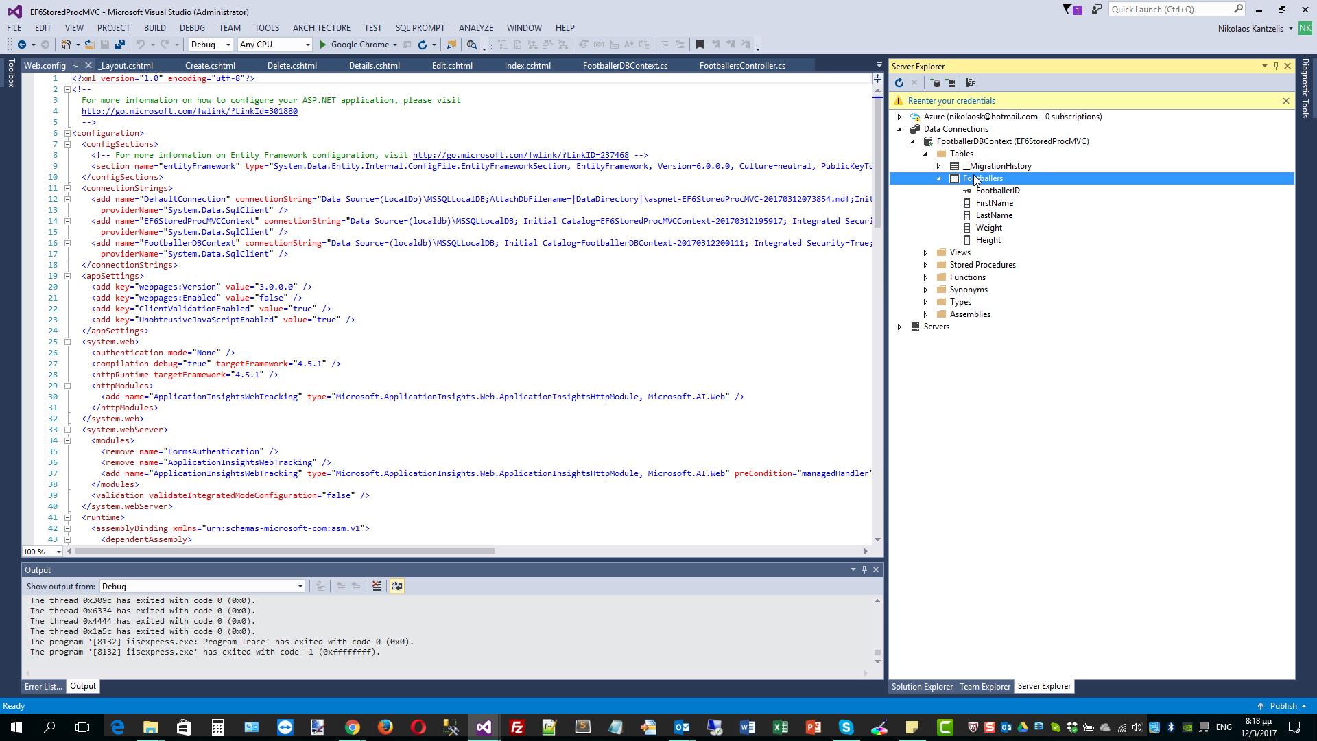 Nikolaos Kantzelis ASP Net Blog - Display Data using a Stored
