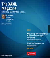 Dan Wahlin - More FlipBoard Magazines: Azure, XAML, ASP NET MVC