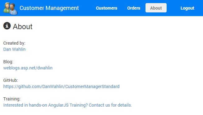 Dan Wahlin - Learning AngularJS by Example – The Customer Manager