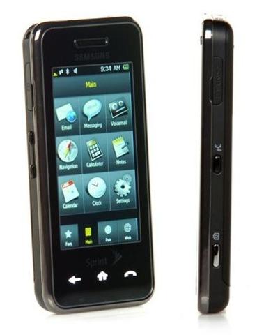 dan wahlin pros and cons of the sprint instinct phone rh weblogs asp net Sprint Instinct S30 Samsung Instinct M800