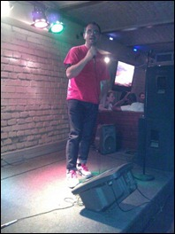 Andrei Ignat – karaoke star