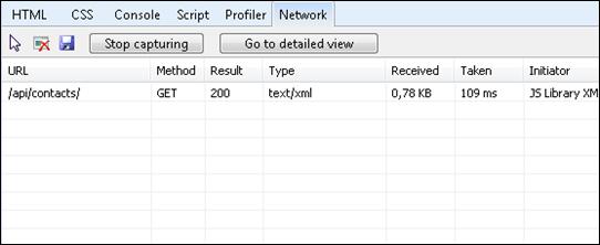 Content negotiation: Response is XML