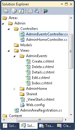 ASP.NET MVC 3: Controller and views generated by controller scaffolding feature