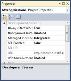 ASP.NET MVC 3 Tools Update: Configure Windows authentication