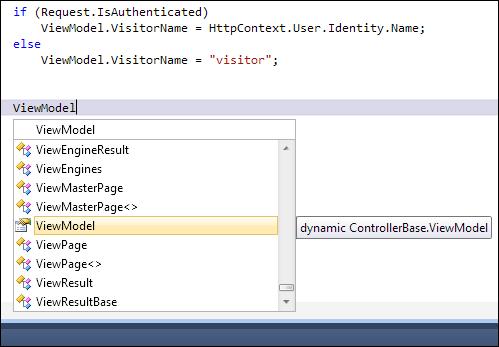 ASP.NET MVC 3: ViewModel property