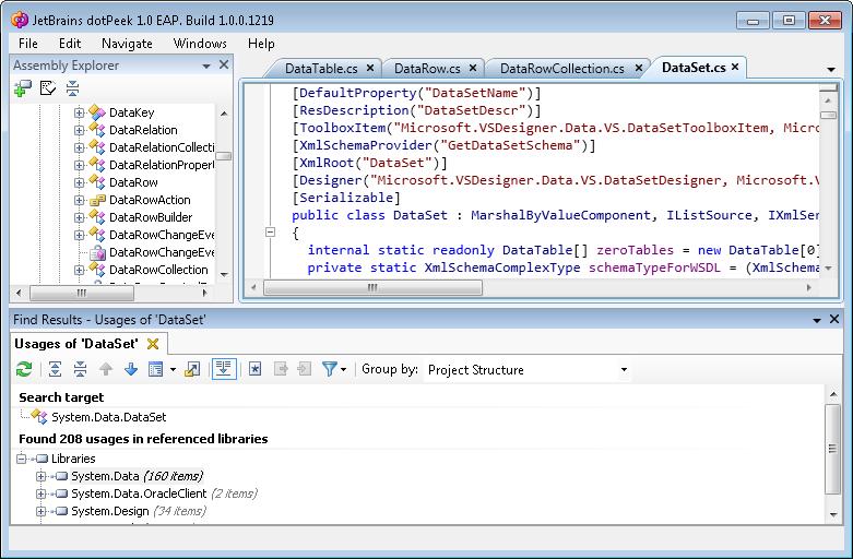 Gunnar Peipman's ASP NET blog - dotPeek–JetBrains replaces