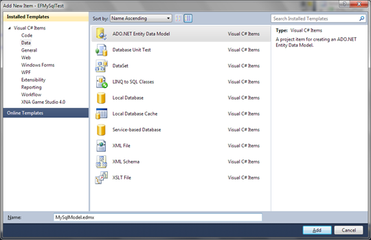 Getting MySQL work with Entity Framework 4 0 - DZone Database
