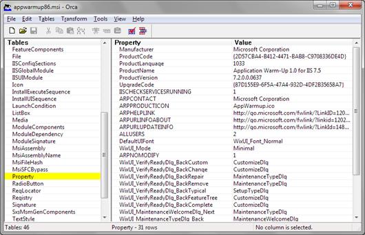 Orca: IIS Application Warm-up module installer