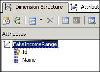 Fake dimension in SSAS cube
