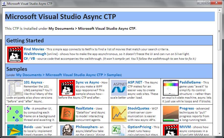 Gunnar Peipman's ASP NET blog - What is Visual Studio Async?