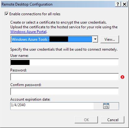 Visual Studio 2010: Remote Desktop configuration