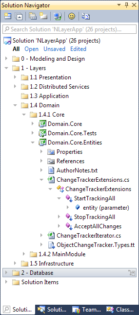 Solution Navigator for Visual Studio 2010