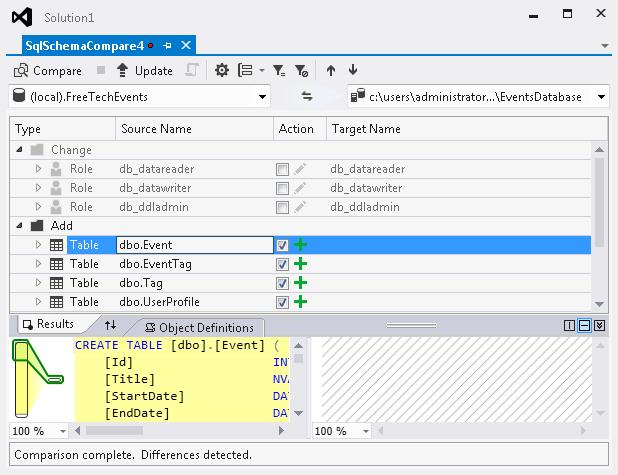 Gunnar Peipman's ASP.NET blog - Using Visual Studio database ...