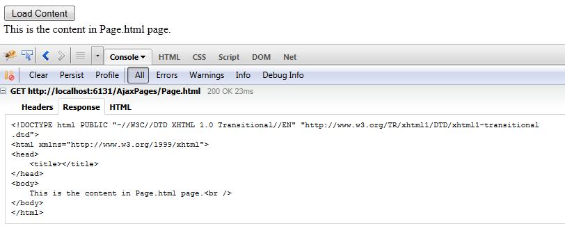 Hajan Selmani - Ajax-based data loading using jQuery load() function