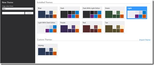 Diffrent color available in visual studio