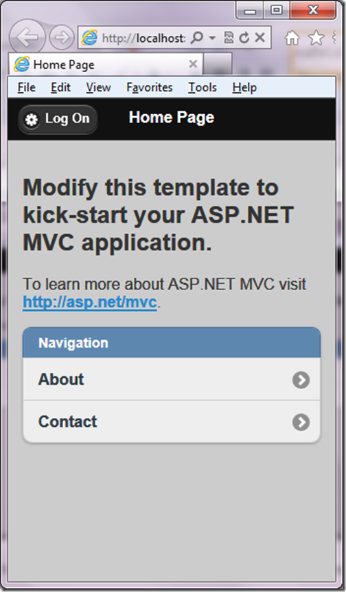 Mobile View with ASP.NET MVC 4.0-http://www.dotnetjalps.com