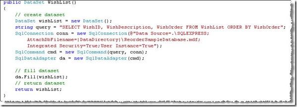 DatasetCode