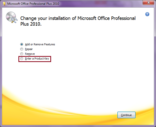 microsoft office 2010 student edition product key