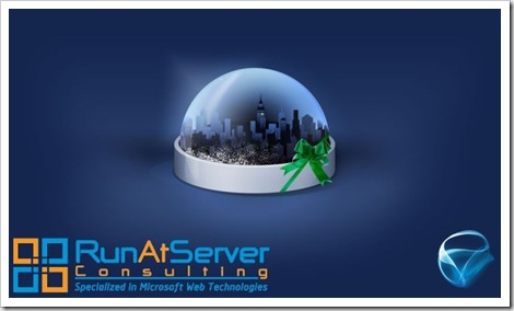 RunAtServer Consulting Silverlight Wishes card