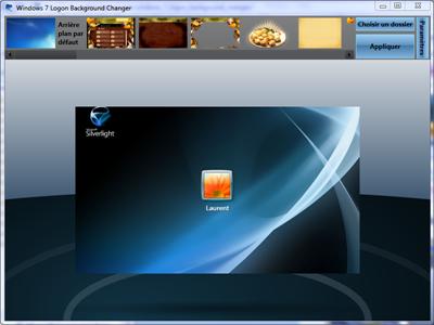 Laurent duveau windows 7 logon background changer - Windows 7 wallpaper changer software ...