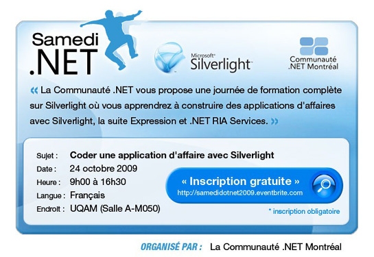 montreal silverlight event