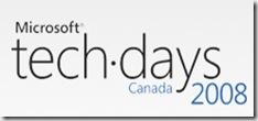Microsoft TechDays Canada 2008