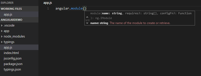 Angular Intellisense in VS Code