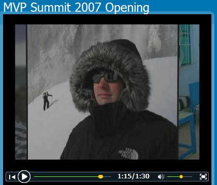 Laurent at the MVP Summit