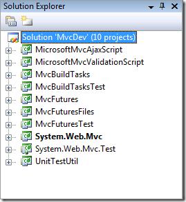 MVC 2 Solution