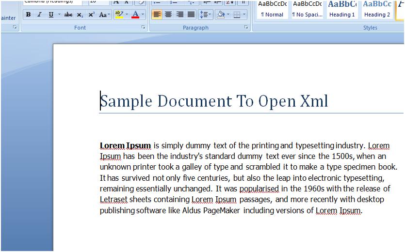 Office open xml questionscatalog - Office open xml format or open document format ...
