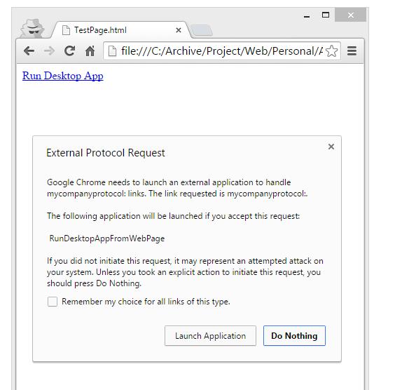 Morteza Sahragard - How to run a desktop application from a