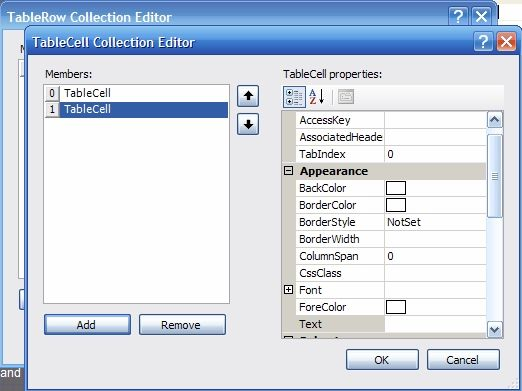 Nannette thacker html tables to table controls - Html table cell properties ...