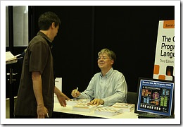 Anders Heilberg at book signing by DBegley, CC-BY