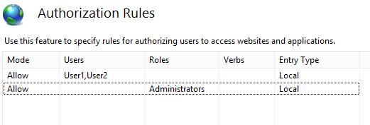Scott Forsyth's Blog - IIS: Using Windows Authentication with