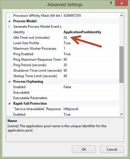 Scott Forsyth's Blog - Why is the IIS default app pool recycle set